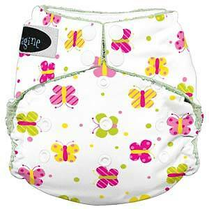 Imagine Bamboo All-in-One cloth diapers! Strathcona County Edmonton Area image 3