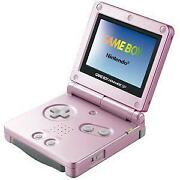 Gameboy Advance SP Pink