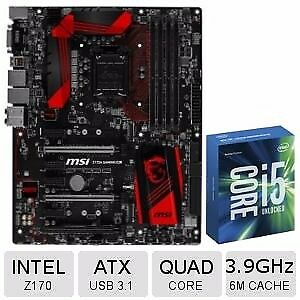 Gaming Skylake i5 6600k CPU & MSI z170 gaming 5 motherboard (