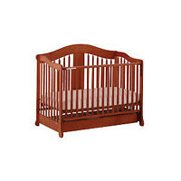 Convertible Crib with Drawer for sale
