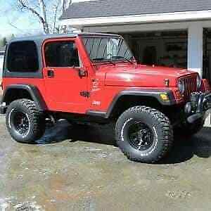 2001 jeep tj for sale