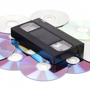 Transfer VHS to DVD or Video File - $7 also 8mm Hi8 MiniDV VHS-C London Ontario image 1