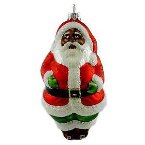 african american santa ornaments - African American Christmas Decorations