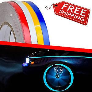 Strisce Auto adesive cerchi Marca 3M™ SERIE 580E rifrangenti con applicatore