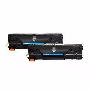 4 Pack Combo New Compatible Canon Hp 83A(CF283A) Toner Cartridge Black