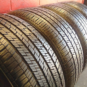4 x 255/50/19 CONTINENTAL 4x4 contact ssr RUN FLAT tires %90 tre