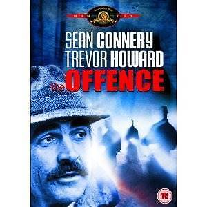 DVD:  The Offence:  Sean Connery Trevor Howard: As NEW Rating:  M Greenwood Joondalup Area Preview