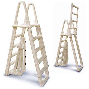 Above Ground A-Frame Safety Pool Ladder