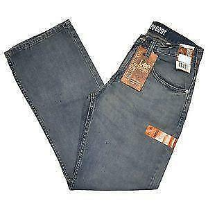 Genuine Lee Relaxed Fit jeans, original rivets and button. waist 96cm / 38
