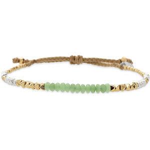 STELLA & DOT Foundation Bracelets (Mint & Pink)