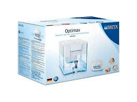 Brita XXL Optimax Cool Fridge/Counter Top Water Filter Jug 8.5L White Maxtra