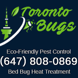 Bed Bug Heat Treatment - Lowest Cost - Licensed - 647-808-0869