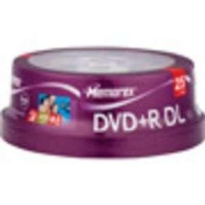 Memorex DVD+R DL, Maxell CD-R