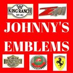 JOHNNY'S EMBLEMS