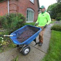 MULCH LAYING AND DELIVERIES