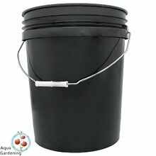 BLACK PLASTIC BUCKET / PAIL 20L WITH LID - FOOD GRADE HDPE Enoggera Brisbane North West Preview
