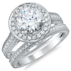 round diamond ring settings ebay - Platinum Wedding Rings For Women
