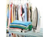 Steam iron services ( including pick up and delivery)