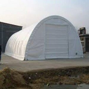 Fabric Storage Building L40' X W30' X H15' Polyethylene