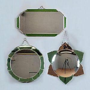 Antique Art Deco Mirror