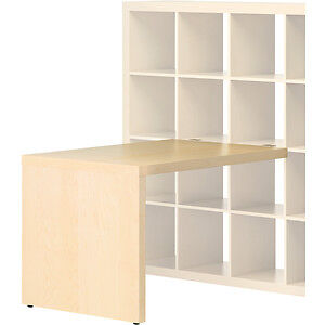 IKEA EXPEDIT Desk, with Book Shelf and fittings
