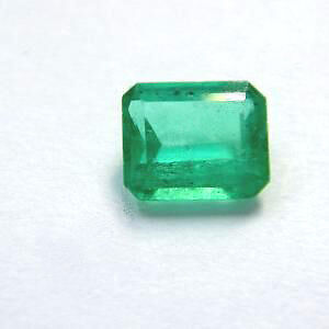 0.54 ct Natural Green Colombian Emerald Certified