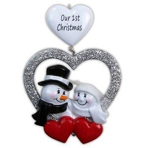 personalized first christmas ornaments - Ebay Christmas Ornaments