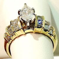 we can custom make your ring, matching band, and all other