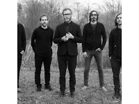 Two Standing tickets to The National