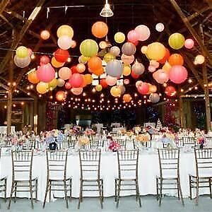 Paper lanterns for wedding &party Downtown-West End Greater Vancouver Area image 2