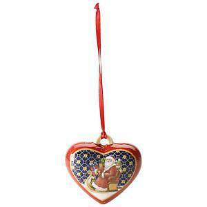 red heart ornament