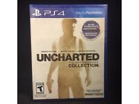 Uncharted Collection ps4 game. cheap