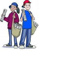 Dawson Heights Newspaper Carriers