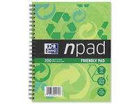 High quality A5 Oxford Npad recycled notebook (last one!)