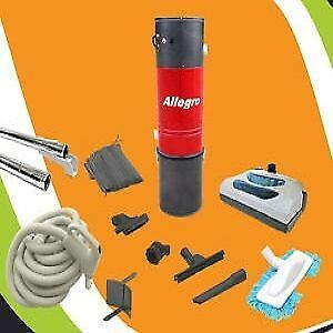 Central Vac Vacuum COMPLETE Package LOADED WITH ACCESSORIES