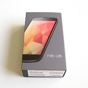 Nexus 4 LG-E960 -16GB- Black excellent condition in box!!