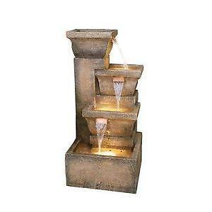 Outdoor Stone Water Fountain