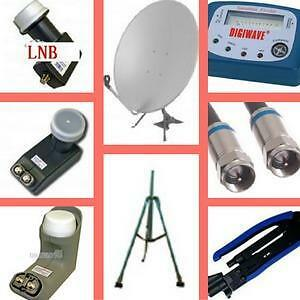 Weekly Promo!  Satellite Dish, Satellite LNB, satellite LNB Holder, ProfessionalTripod for Satellite Dish, S