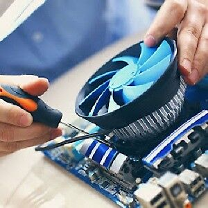 Screen replacement, virus removal, data recovery, blue screen