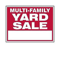 Multi-Family Yard Sale - 3 Tanya Crescent (North End)