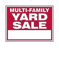 Multi-Family Yard Sale - 3 Tanya Crescent (North End)