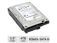 """Seagate 4TB 3.5"""" HDD sata III brand new unused RRP £110"""