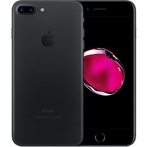 iPhone 7 Plus Matte Black Brand New Sealed-Warranty and Receipt