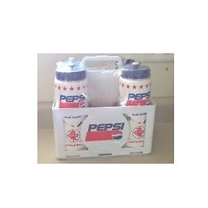 Pepsi Water 4 Bottles and Caddy