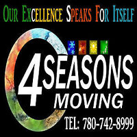 4 Seasons Moving .. Your best choice.