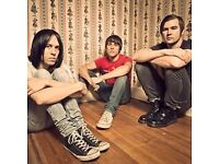 The Cribs Leeds Arena Sat 20th May 2017 - Standing - only £15
