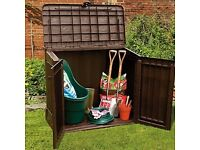 New Keter Midi Garden Shed Storage Box - New In Box