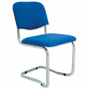 Trexus Cantilever Chair Upholstered Stackable Seat