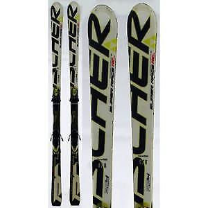 HALF THE PRICE!! TOP NOTCH fischer SKIS for man or woman 160 cm