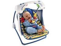 Fisher price deluxe baby swing